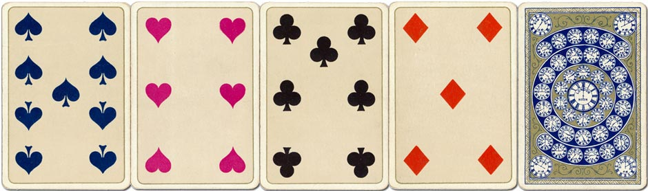 Kimberley's Royal National Patriotic playing cards, second edition c.1893-96