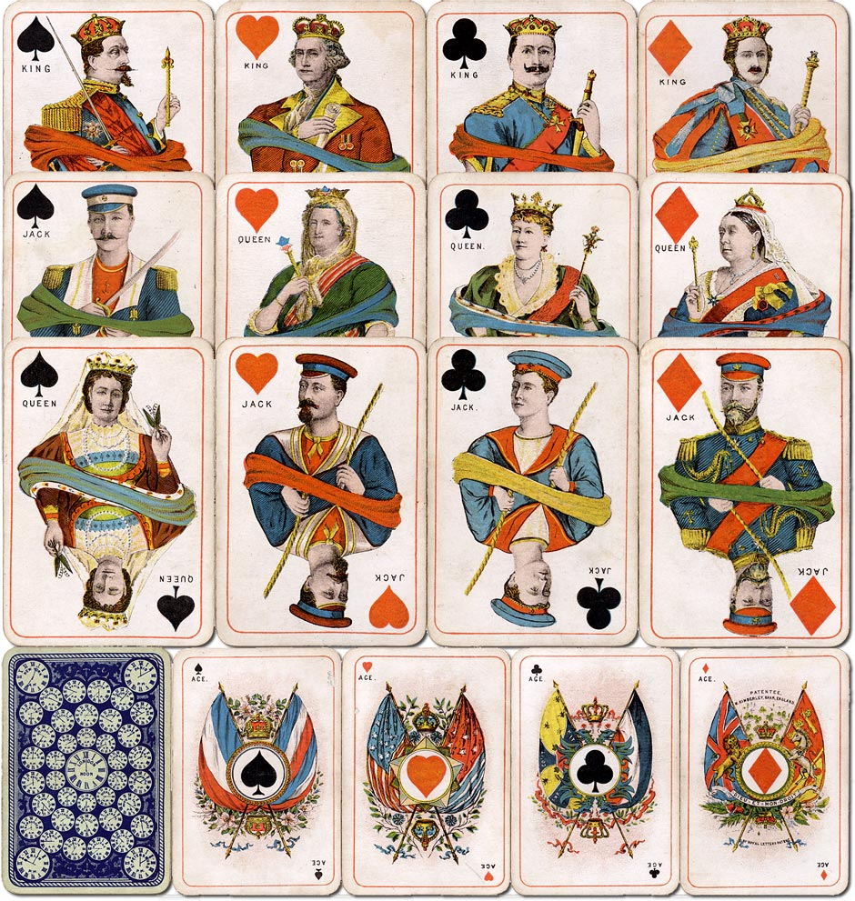 Kimberley's Royal National Patriotic playing cards