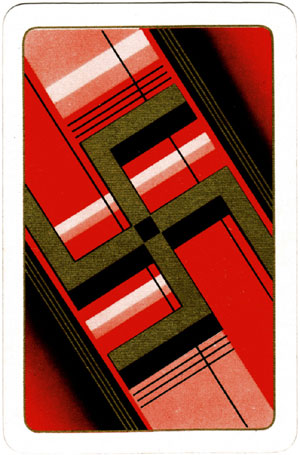 Non-Revoke playing pards manufactured by Universal Playing Card Co Ltd for Kum-Bak Sports, Toys & Games, c.1930