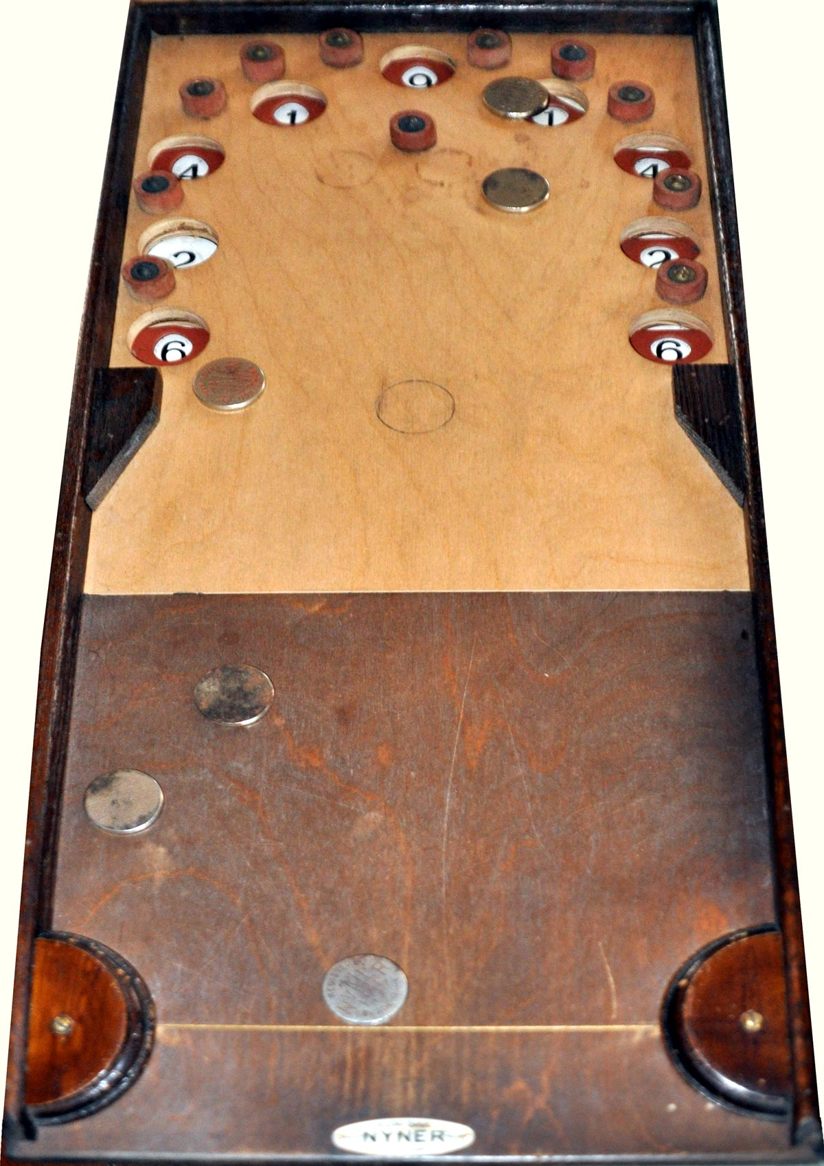 Nyner indoor board game, c.1935