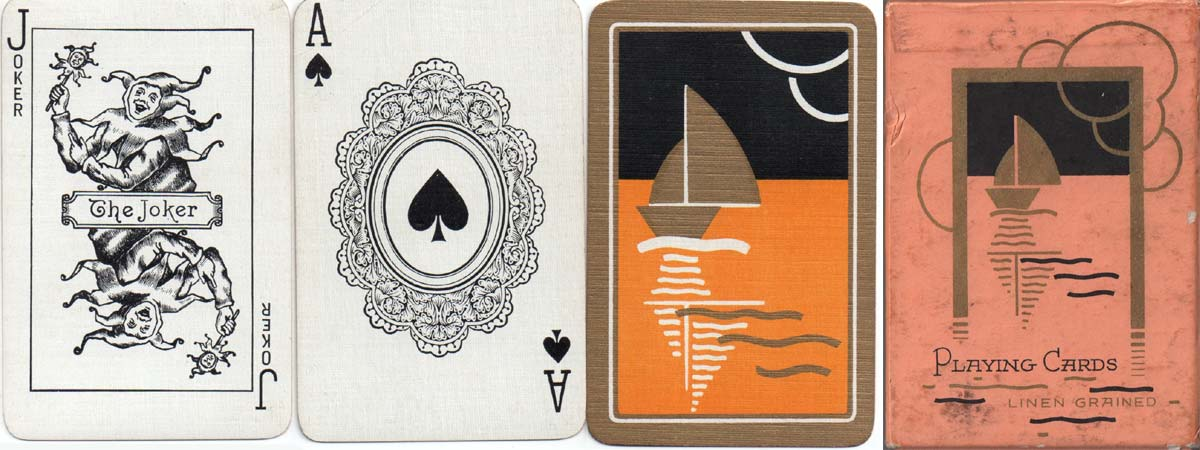 Playing cards printed by De la Rue for the Wills gift scheme, 1933-34