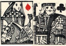 detail from South Sea Bubble Playing Cards, 1720