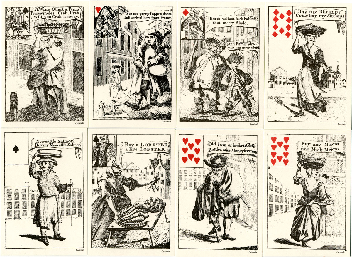 Cries of London Playing Cards