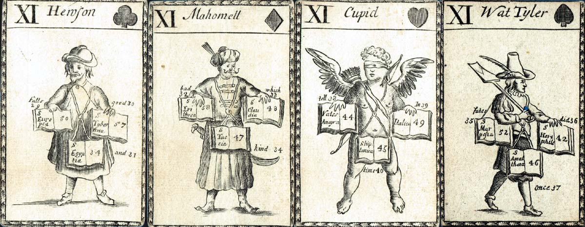 Lenthall's Fortune-Telling Cards, c.1714
