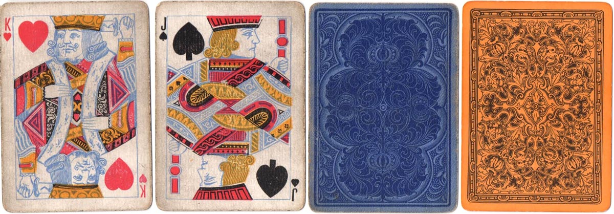 Playing cards manufactured by J & W Mitchell, Birmingham, c.1890