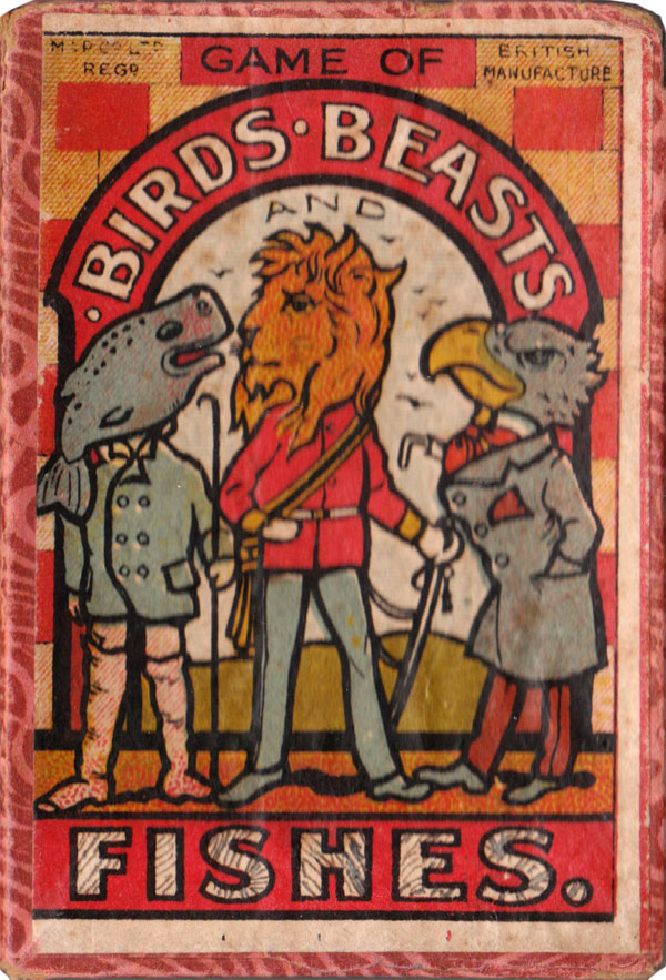 """Birds, Beasts and Fishes"" published by Multum in Parvo Ltd, c.1905"