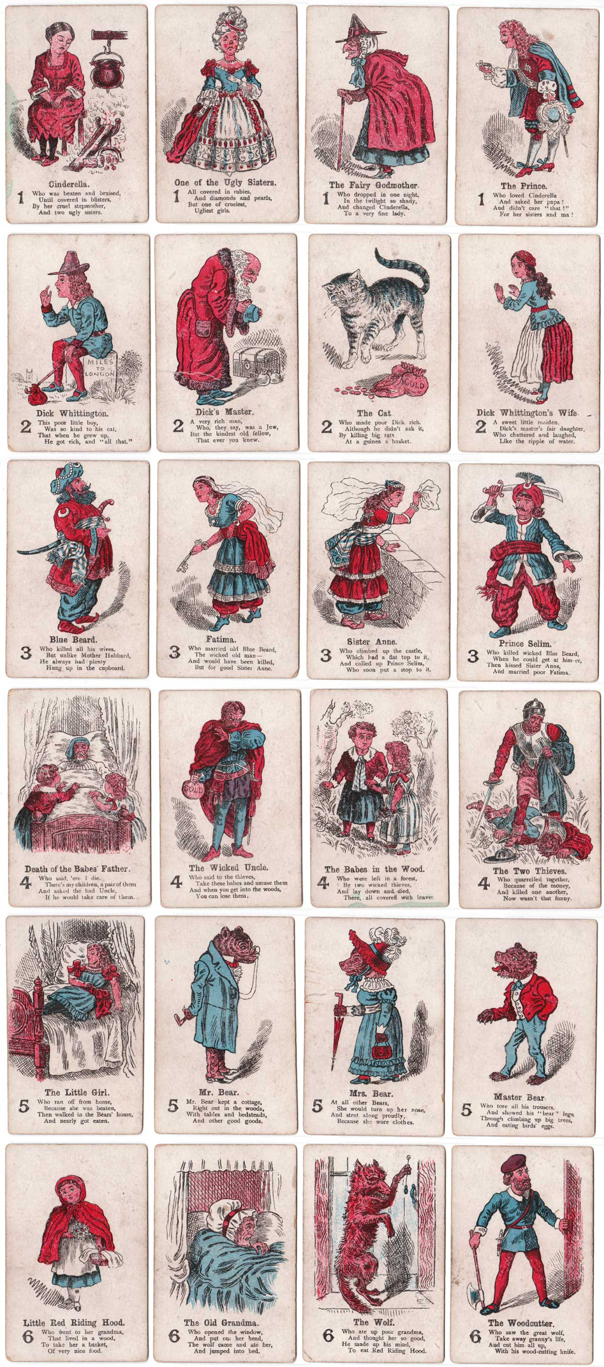 the Game of Fairy Tales published by Multum in Parvo, from 1896