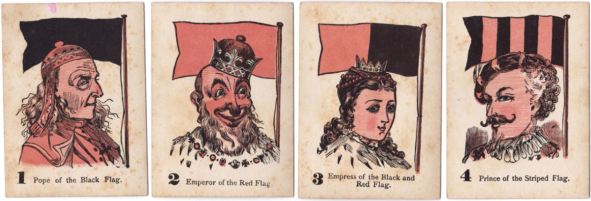 the Game of Four Flags, 1884