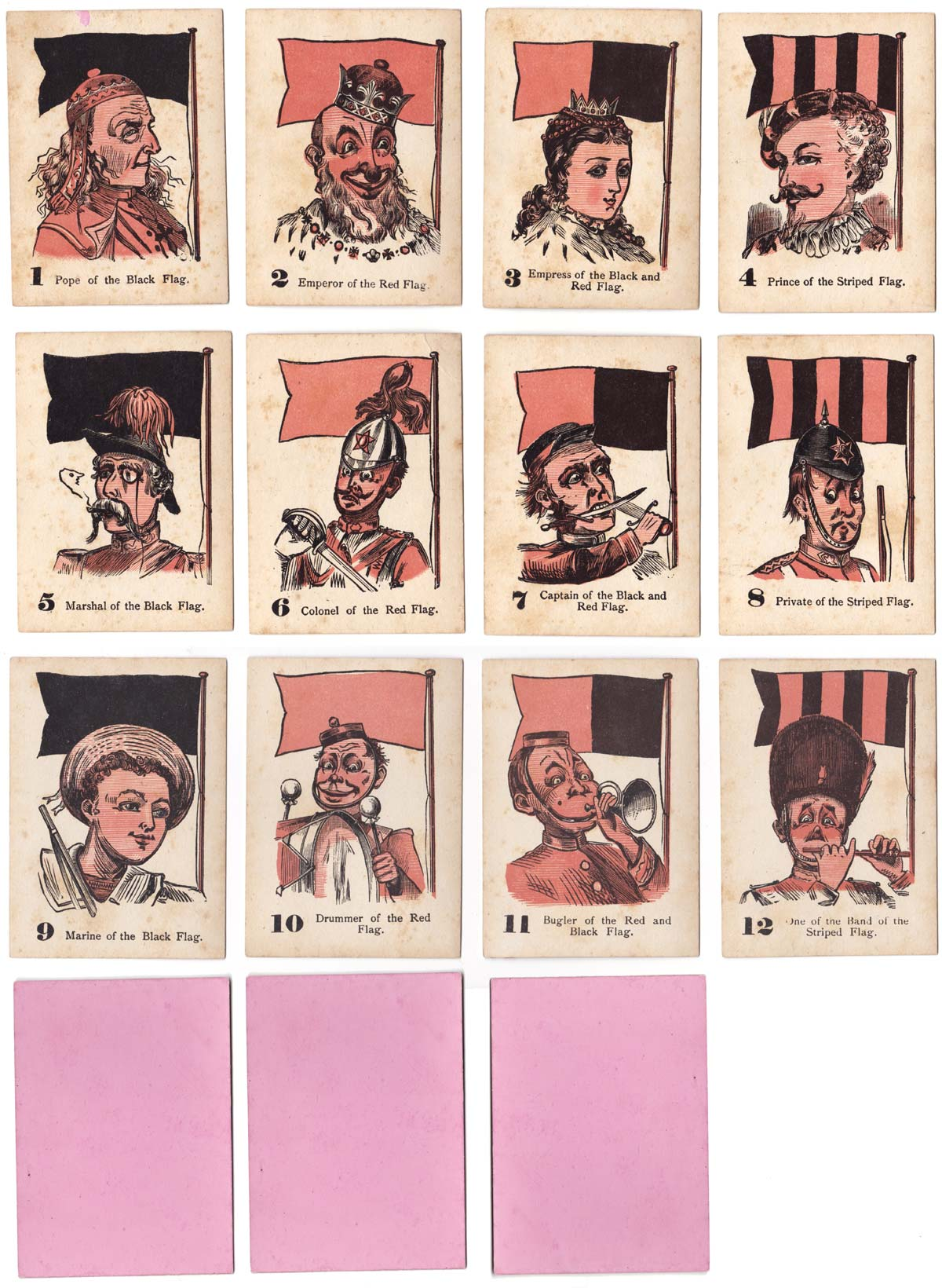 The Game of Four Flags published by Multum in Parvo, from 1884