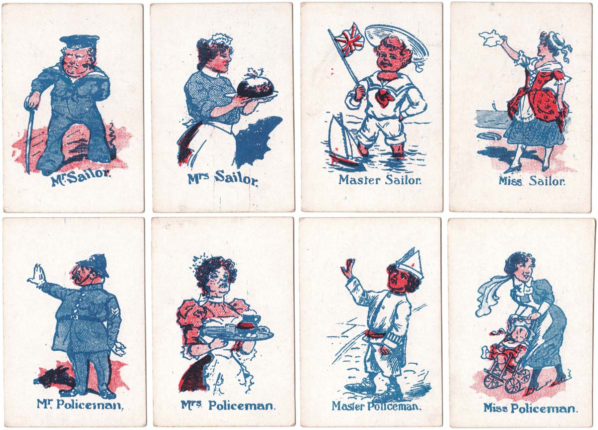 Merry Families #2 (Occupations), by Multum in Parvo Co. Ltd., c.1890
