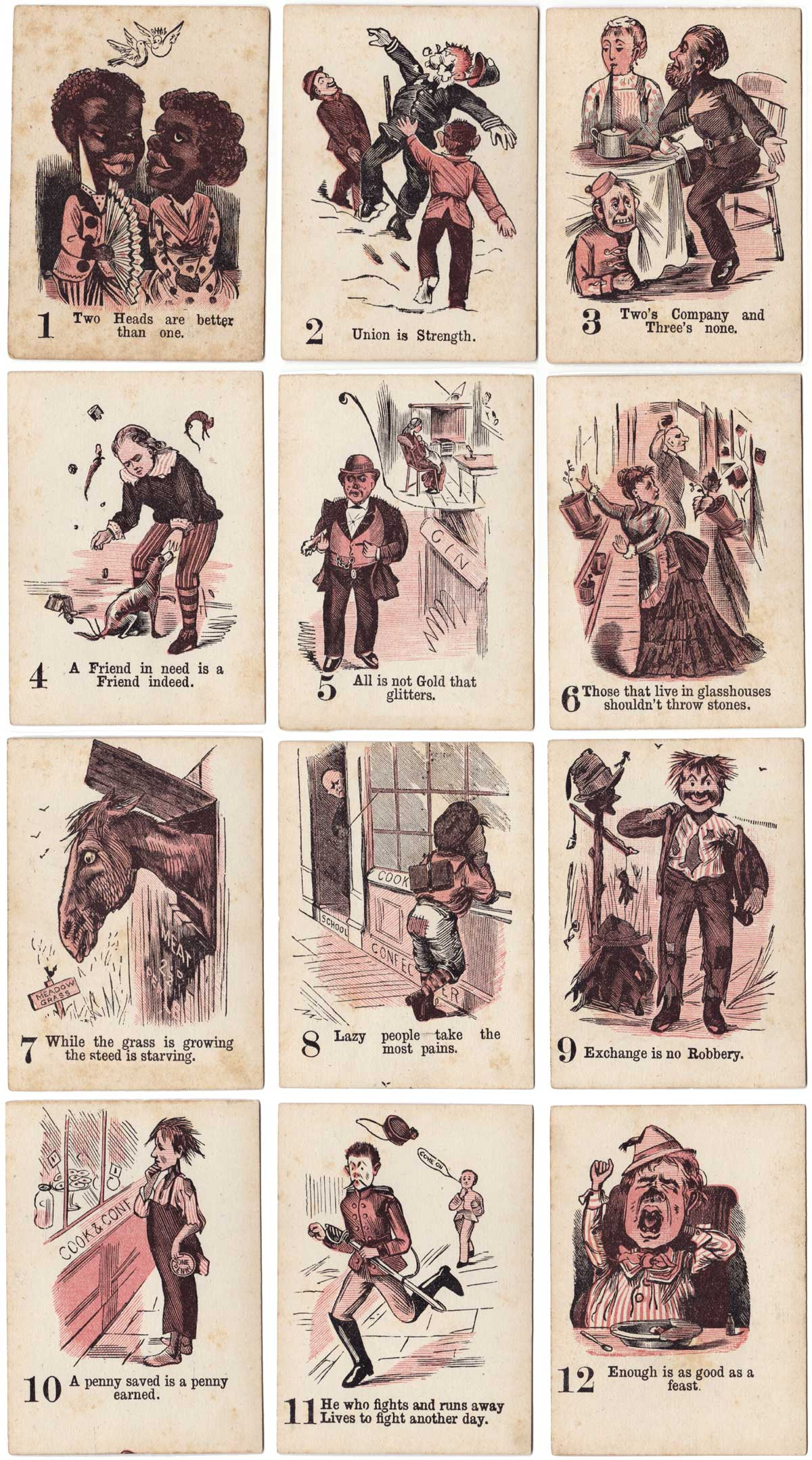 The Game of Nap published by Multum in Parvo Ltd, London, c.1900
