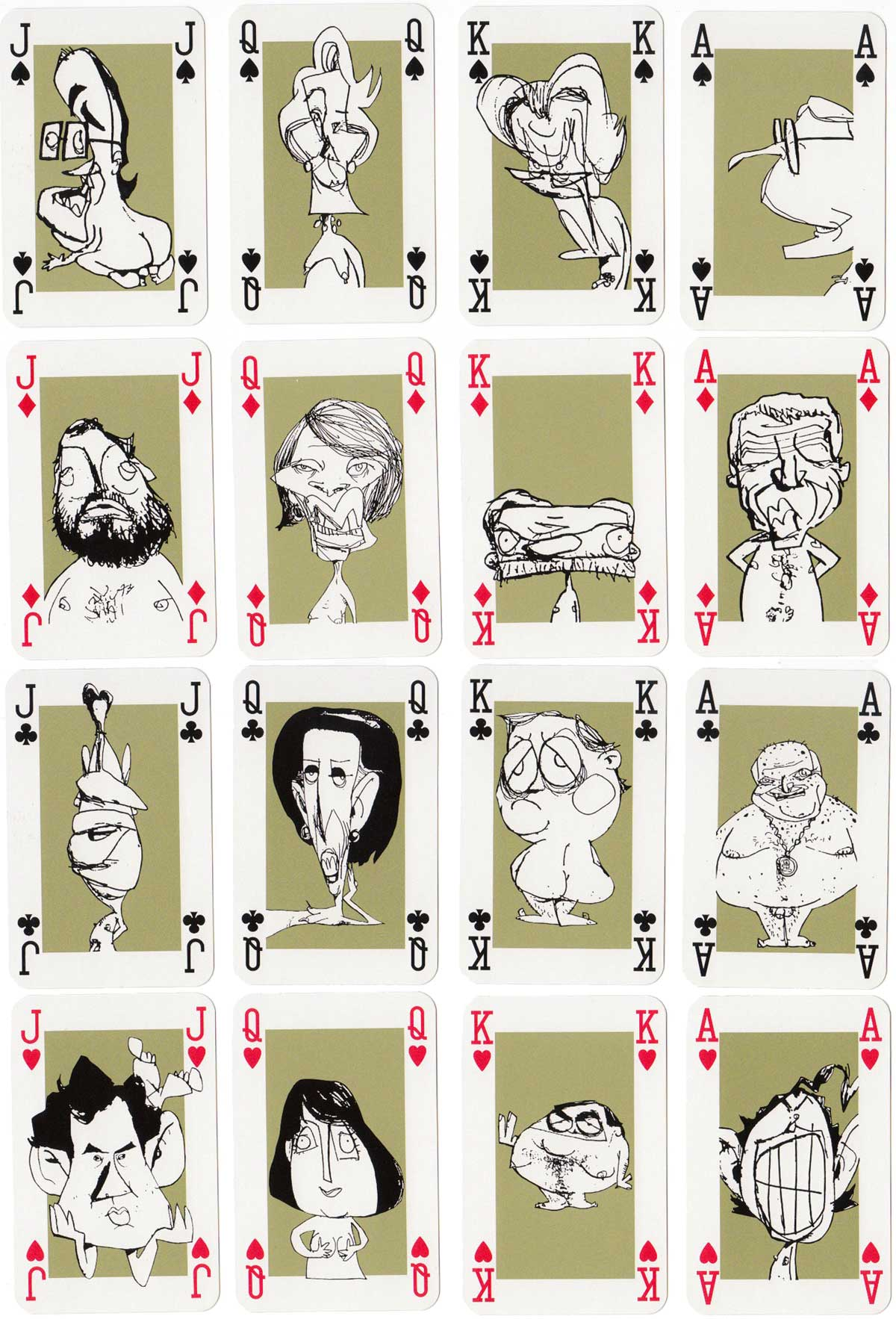 """Naked Truth"" Playing Politics with caricatures by Jason Pratt, 1997"