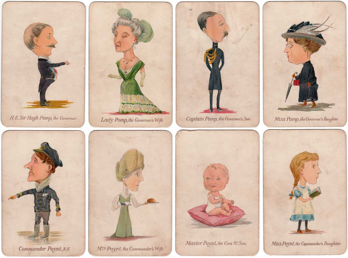 Naval and Military Families produced by Prince and Princess Louis of Battenberg, printed by Ernst Nister of Nuremberg, c.1905-10