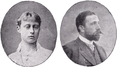 Prince and Princess Louis of Battenberg, c.1896