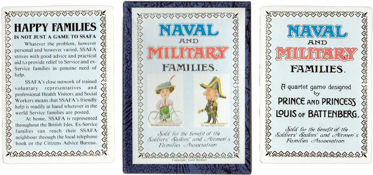 Naval and Military Families reproduction for SSAFA