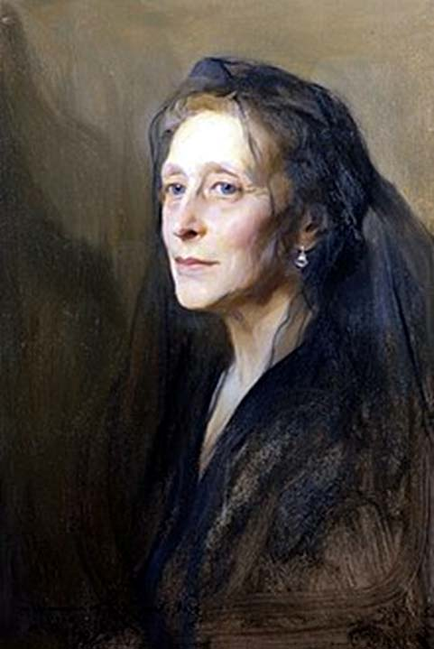 Portrait of Victoria in 1937 by Philip de Laszio