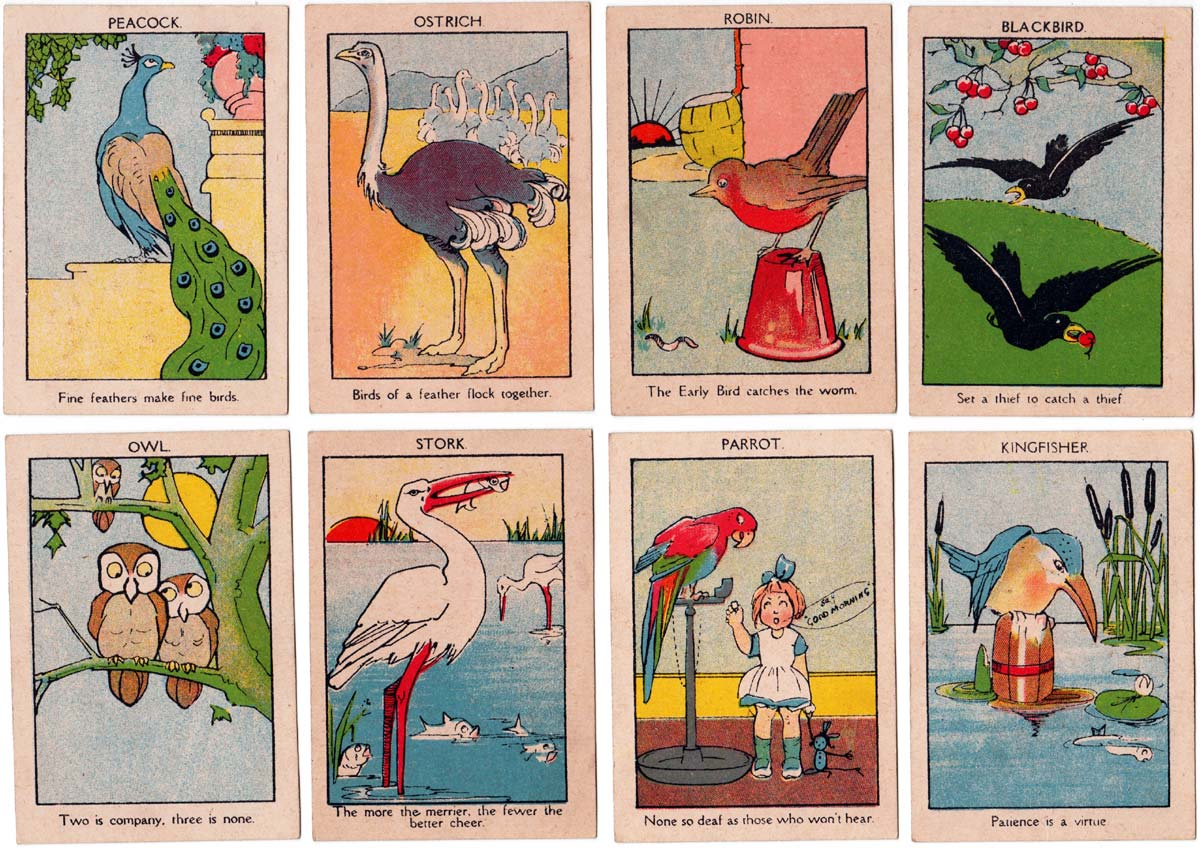 Proverbs by Norvic Mill, 1920s