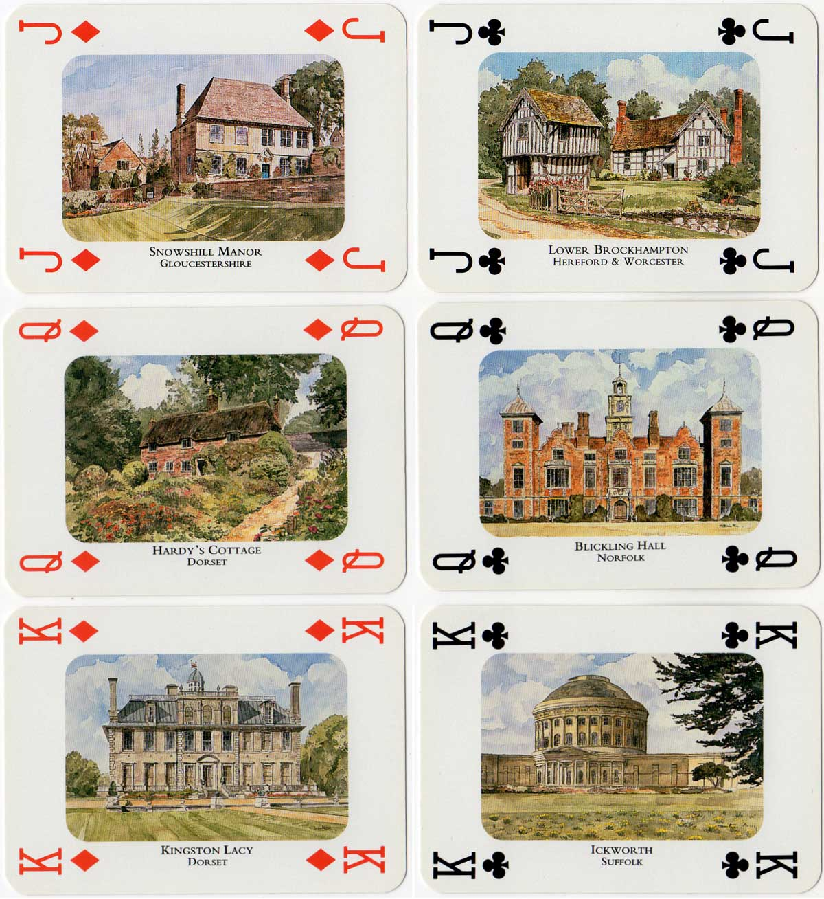 National Trust Properties Pack, c.1997