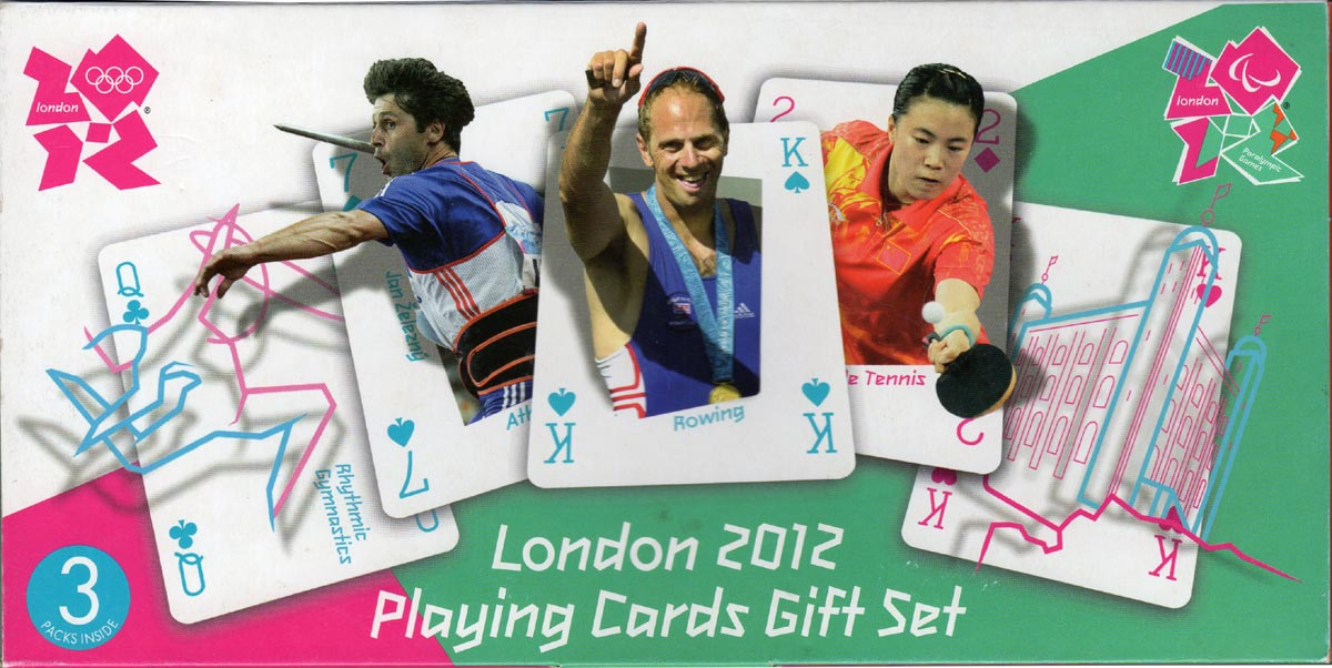 London 2012 Playing Cards Gift Set
