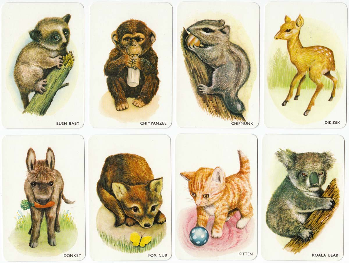 Animal Snap published by Pepys Games, c.1960
