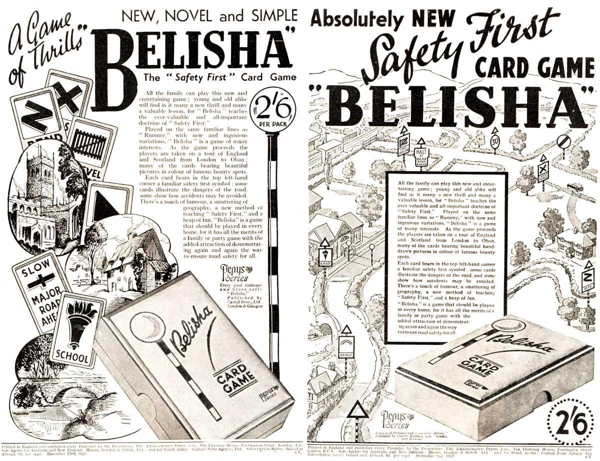Belisha advertisements