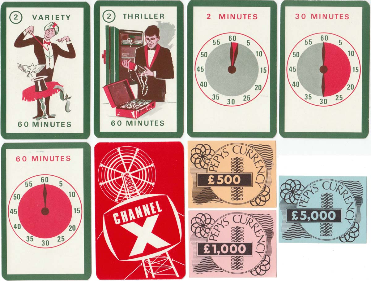 Channel X published by Pepys Games, c.1966