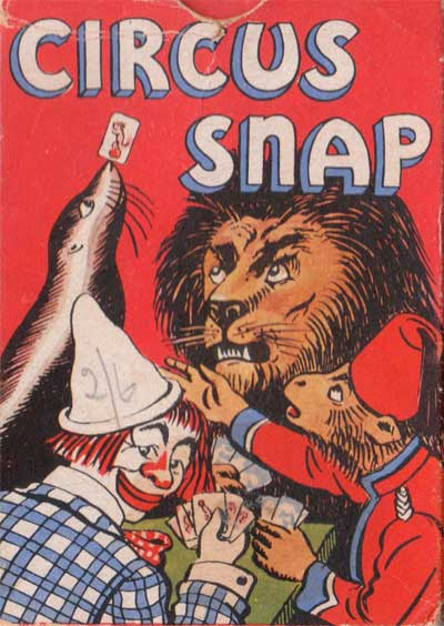 Circus Snap published by Pepys Games, c.1954