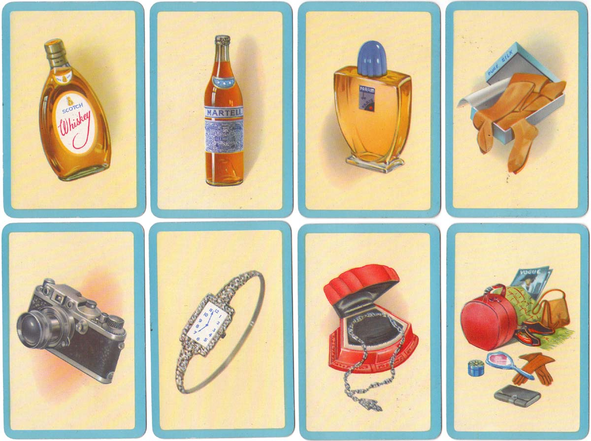 Contraband by Pepys Games, early 1950s