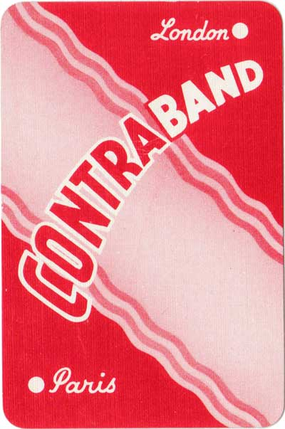 Contraband by Pepys Games, c.1957