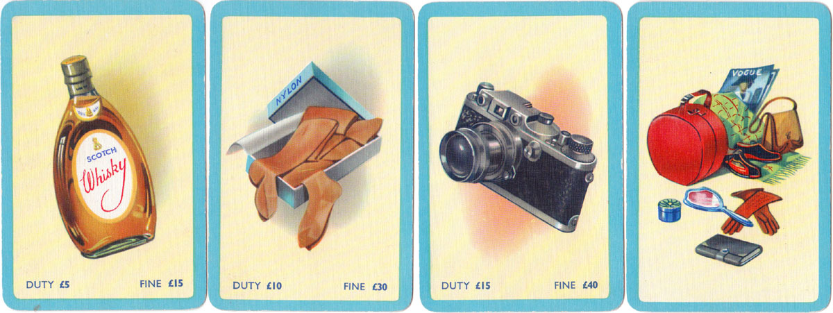 Contraband by Pepys Games, c.1963