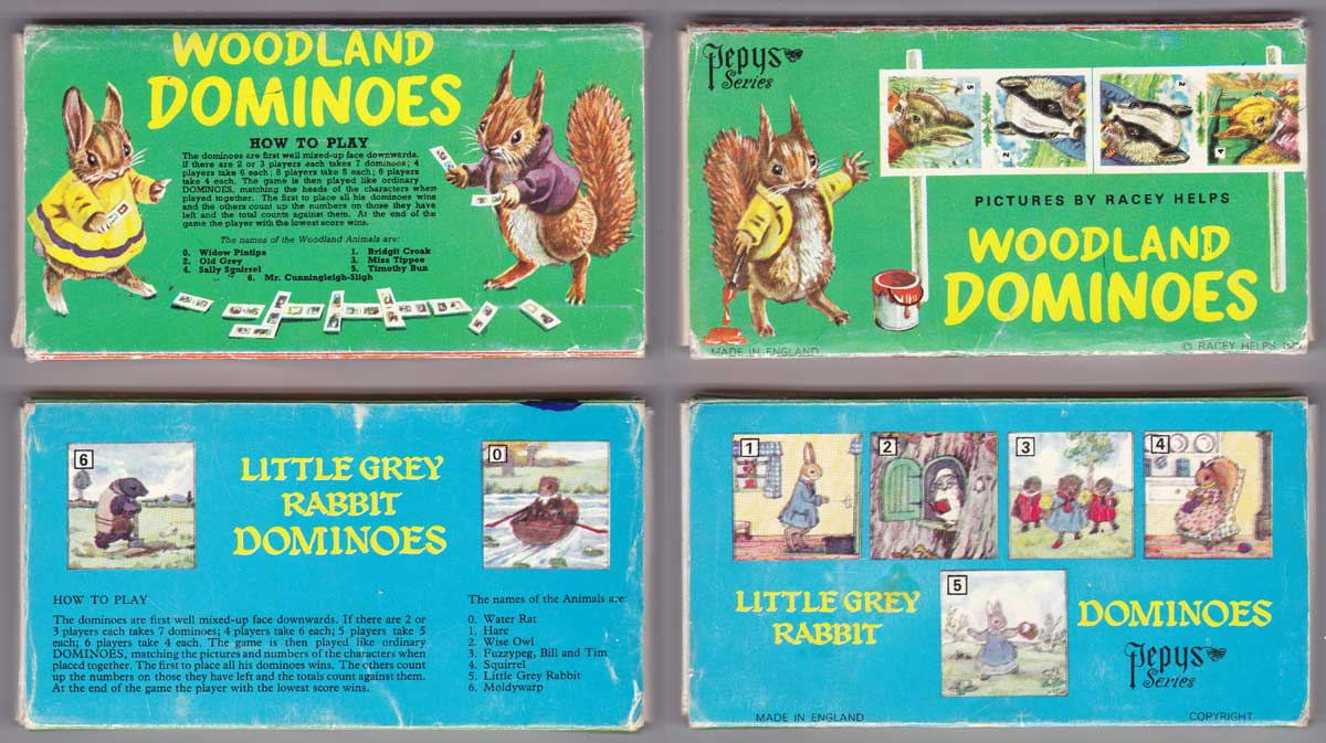 Picture Dominoes - The World of Playing Cards