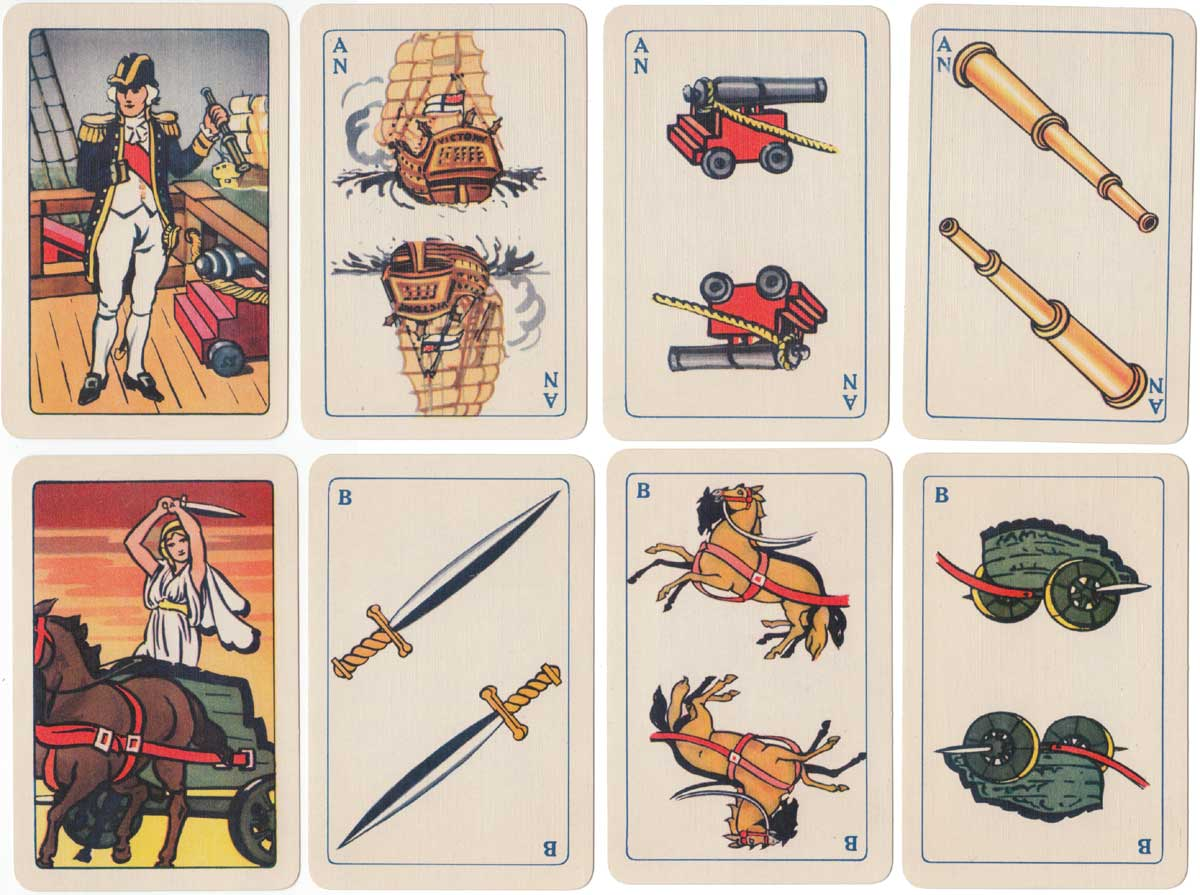 Famo, the historical card game, 1939