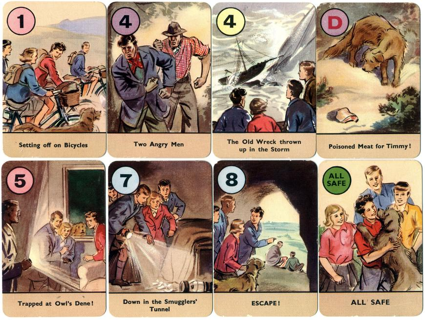 The Famous Five Card Game by Enid Blyton