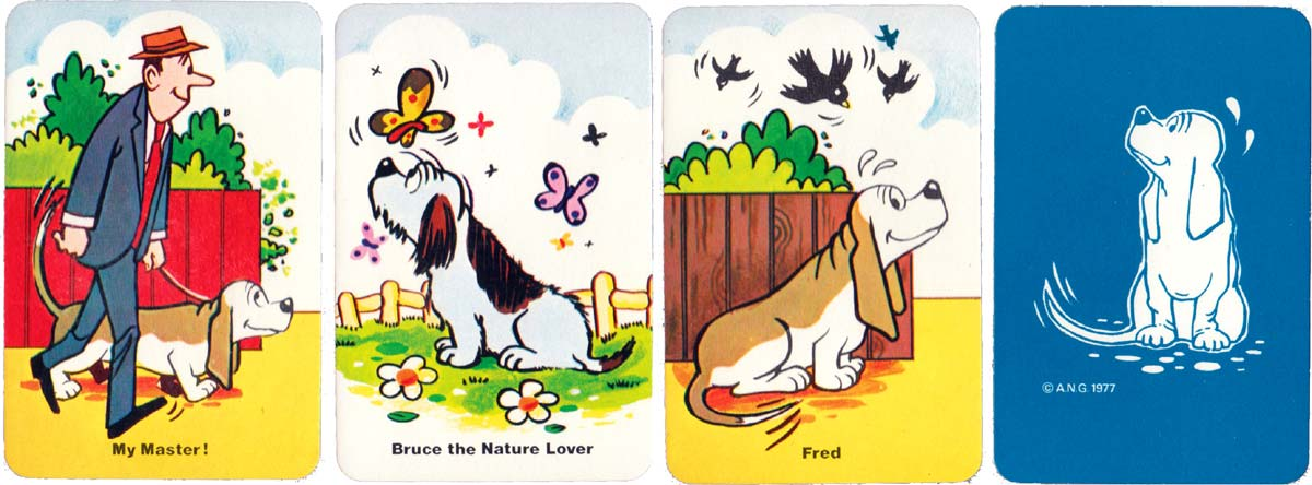 Fred Basset published by Pepys Games, 1977