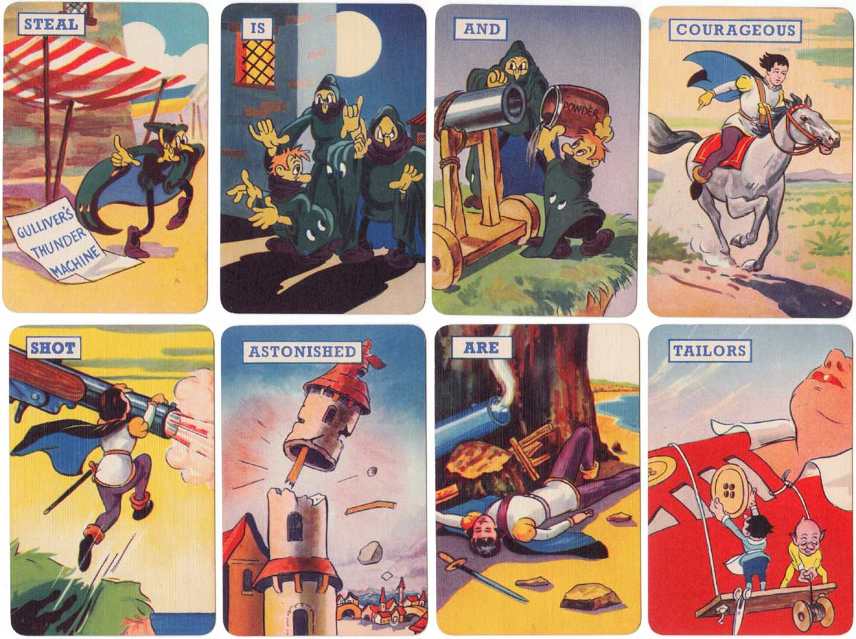 Gulliver's Travels by Pepys Games, based on the cartoon film, 1940