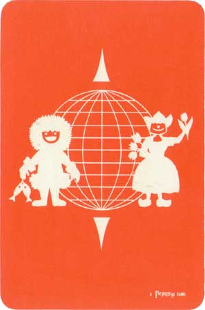 Happy Families of the World published by Pepys Games, 2nd edition, 1963
