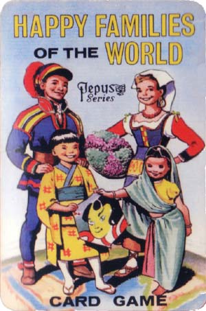 Happy Families of the World published by Pepys Games, 1963