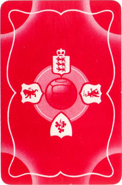 International Football Whist published by Pepys Games, 1947