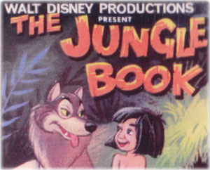 Jungle Book by Pepys games, inspired by Walt Disney, 1967