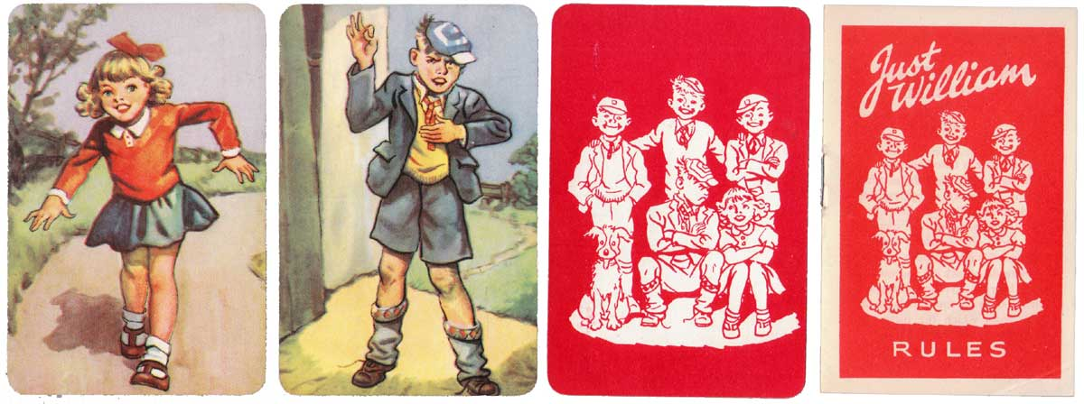 Just William drawn by Thomas Henry, published by Pepys Games in 1952