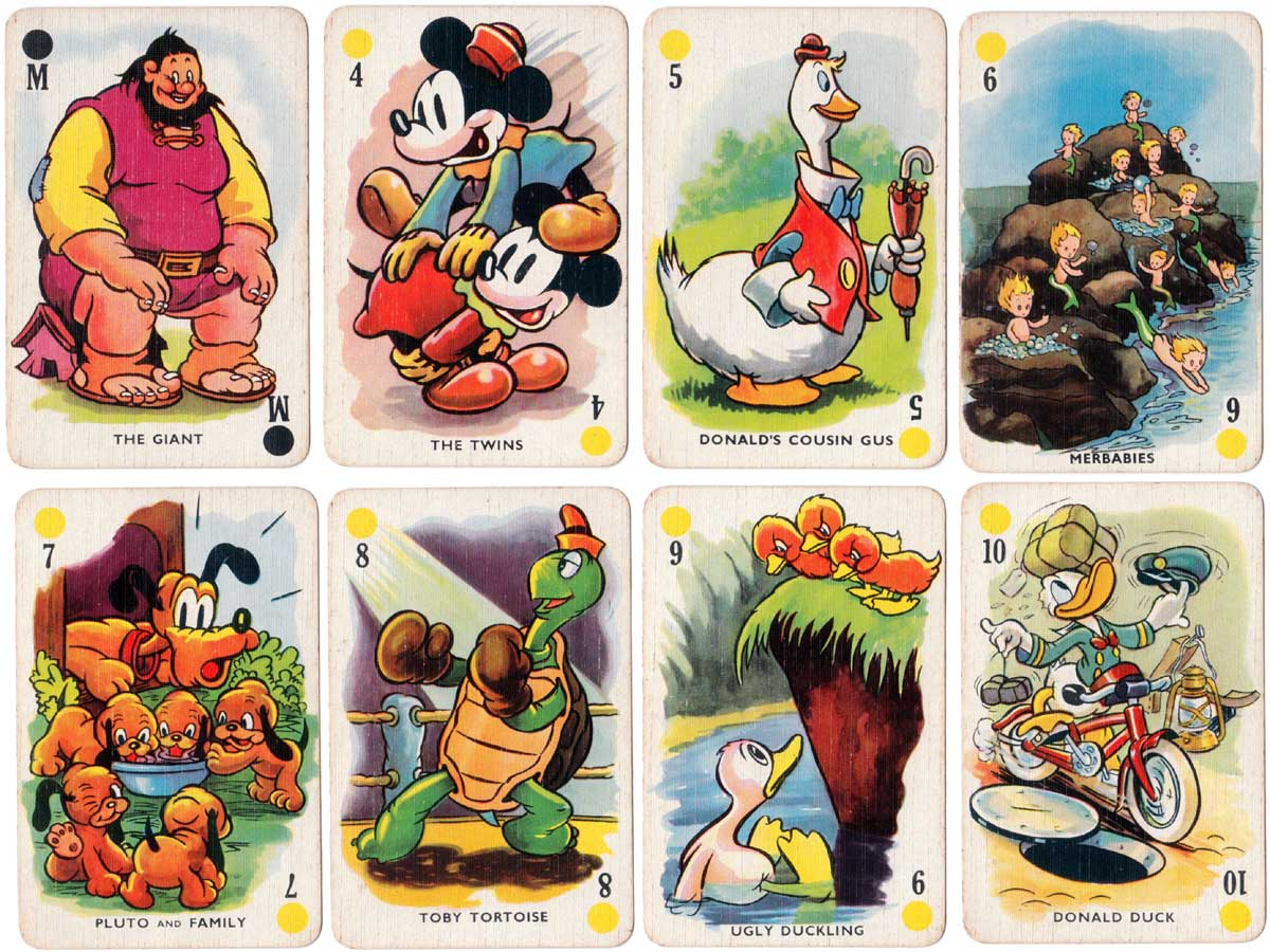 Mickey's Fun Fair published by Pepys Games in collaboration with Walt Disney, 1939