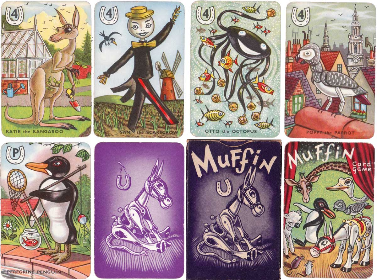 Muffin card game published by Pepys Games, c.1951