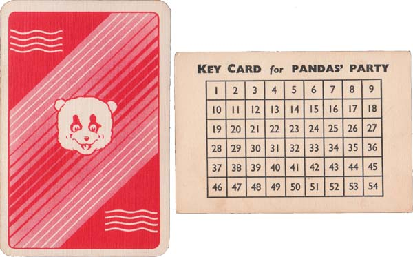 Panda's Party published by Pepys Games, 1940