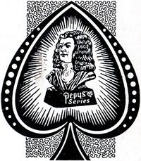 detail from early Pepys Series Ace of Spades, c.1938