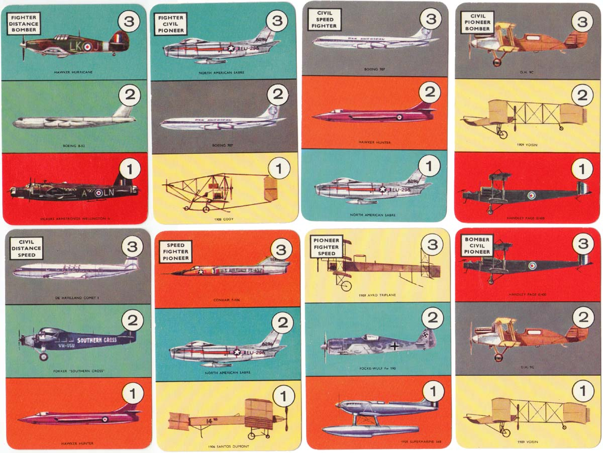The 'Planes Game published by Pepys, 1965