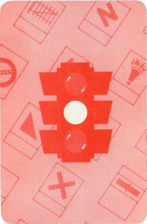 Round Britain card game published by Pepys Games, 1955