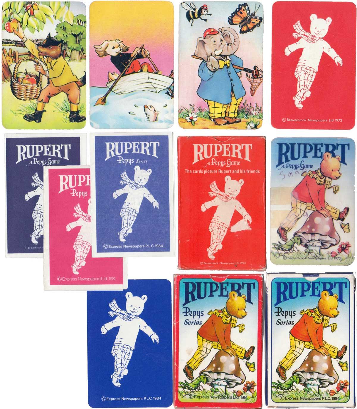Rupert, a Pepys Game, 1973