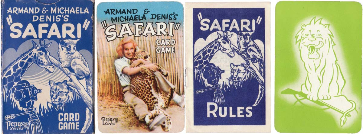 'Safari' published by Pepys Games, 1956