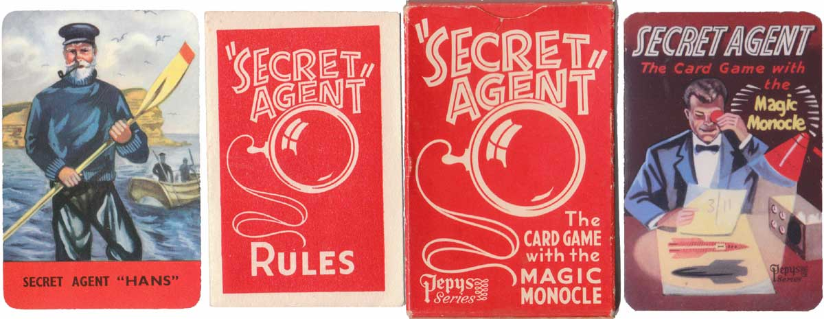 Secret Agent by Pepys Games, 1957