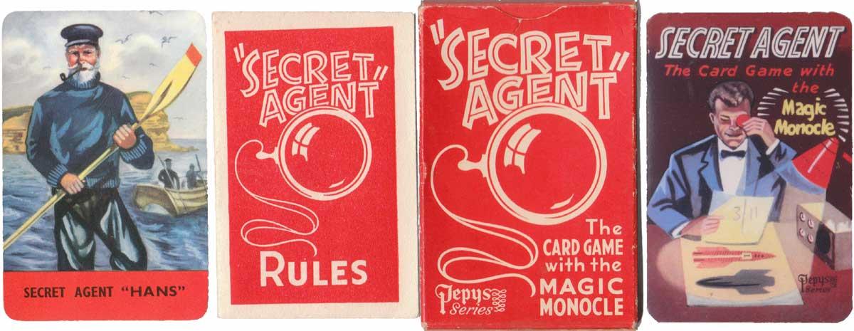Secret Agent by Pepys Games, 1957